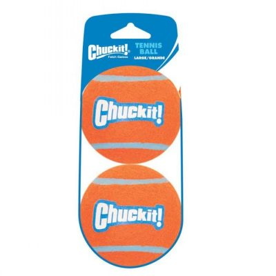Chuckit! Tennis Ball - Large 7Cm 2-Pk (Sleeve)