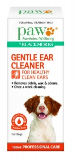 Flea & Tick Remedies Pet Supplies Paw Gentle Ear Cleaner For Cats And Dogs 120ml